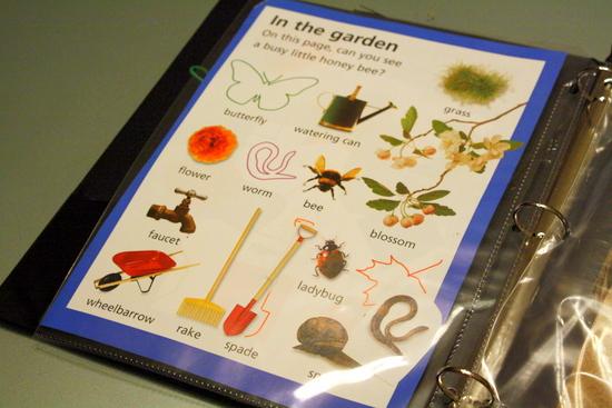 Sticker book activity binder
