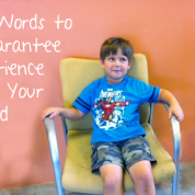 5 Words to Guarantee Patience in your Child