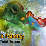 Colorful Salt Paintings