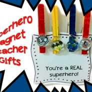 Superhero Magnet Teacher Gift